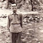 Duane Hall, 19, in 1937
