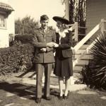 My parents, 1942