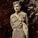 My father, Corporal Ralph Hall, 26, in 1944