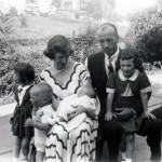 Our family of six in 1954