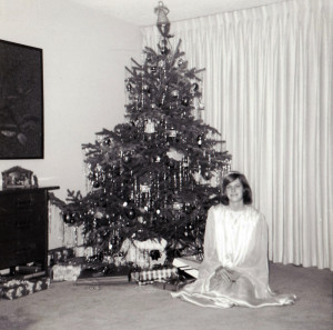 Me in my angel costume, 1964